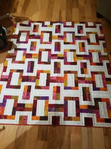 Larger Quilt - Went to fire victim